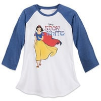Art of Snow White Raglan Top for Women - Limited Release