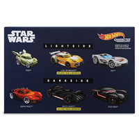 Image of Star Wars: Light Side Vs. Dark Side Die Cast Car Set - Hot Wheels # 2