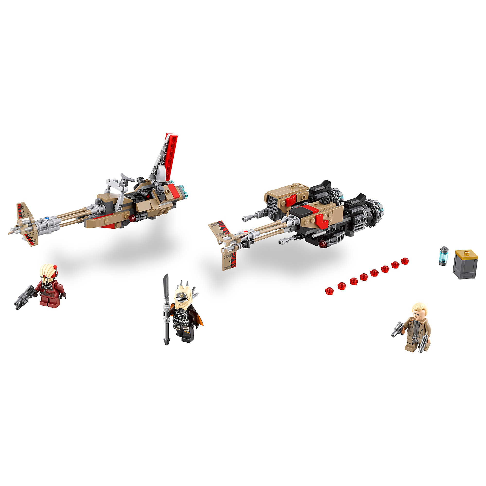 Cloud-Rider Swoop Bikes Playset by LEGO - Solo: A Star Wars Story