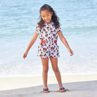 Image of Minnie Mouse Swim Cover-Up for Girls - Personalizable # 2