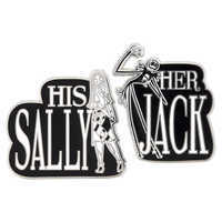 Image of Jack Skellington and Sally Pin Set # 1
