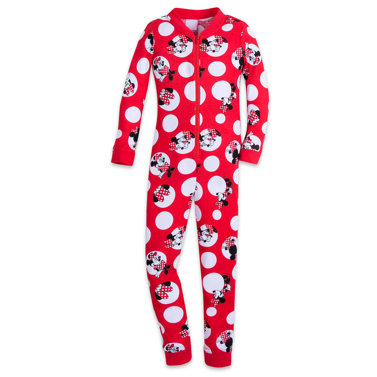 81ee97083f62 Minnie Mouse One-Piece PJ for Girls