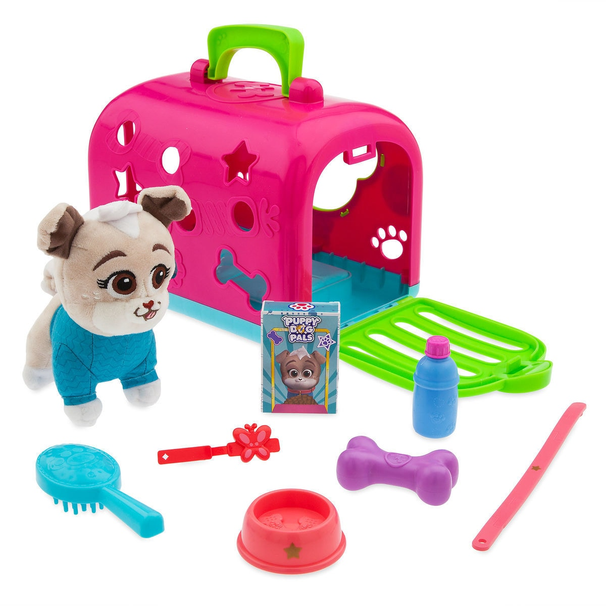 Product Image of Keia Groom and Go Pet Carrier Play Set - Puppy Dog Pals   b9c9fb27ca855