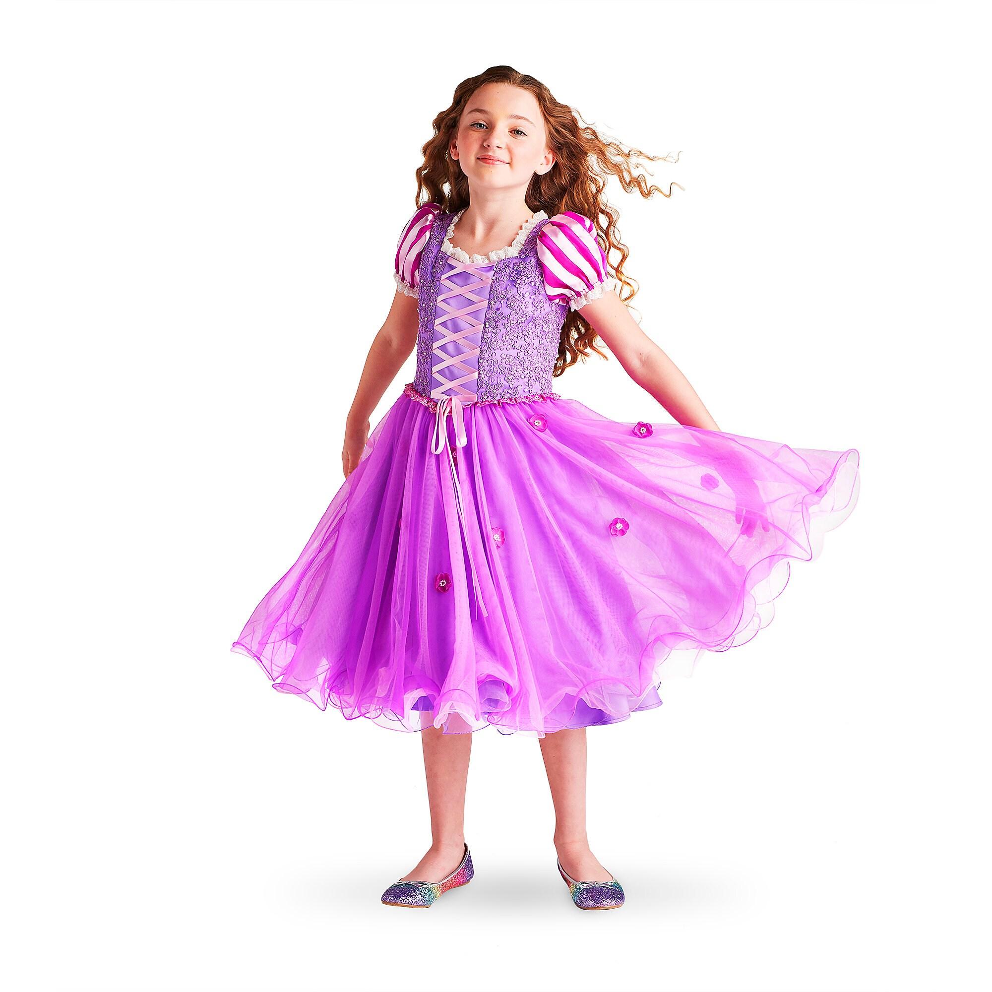 Rapunzel Signature Costume For Kids