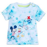 Image of Mickey Mouse and Donald Duck Shirt and Pant Set for Baby # 2