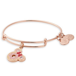 Minnie Mouse Donut Bangle by Alex and Ani Official shopDisney