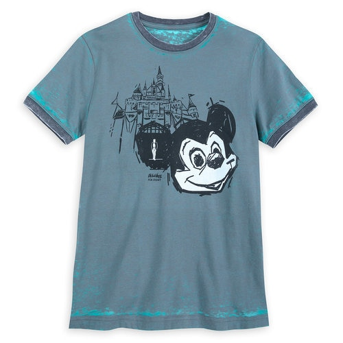 Mickey Mouse Disney Parks Artist Series T-Shirt for Men by Brian Blackmore