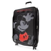 Mickey Mouse Timeless Rolling Luggage - 29'' - Walt Disney World