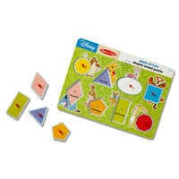 Image of Winnie the Pooh Shapes Sound Puzzle by Melissa & Doug # 1