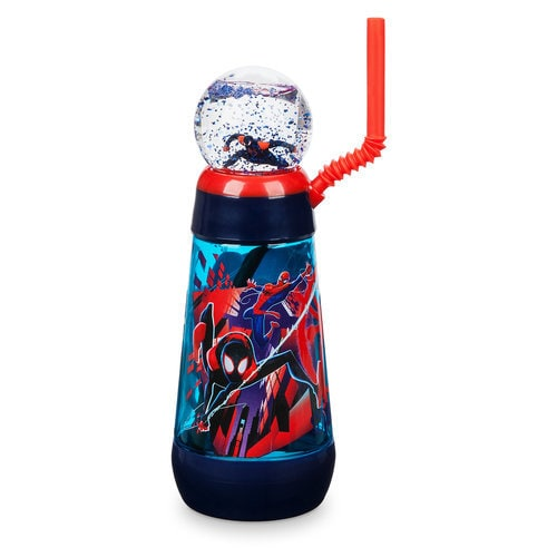 Spider-Man: Into the Spider-Verse Snowglobe Tumbler with Straw