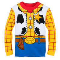 Image of Woody Costume PJ PALS for Boys # 3