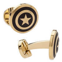 Image of Captain America Cufflinks # 2