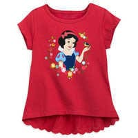 Image of Snow White Lace Top for Girls # 1