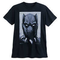 Image of Black Panther Face T-Shirt for Adults # 1