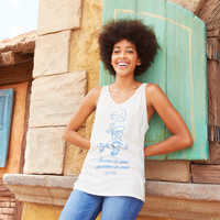 Image of Jiminy Cricket Tank Top for Women by Junk Food - Pinocchio # 2