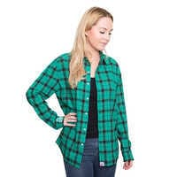 Image of Ariel Flannel Shirt for Adults by Cakeworthy # 5