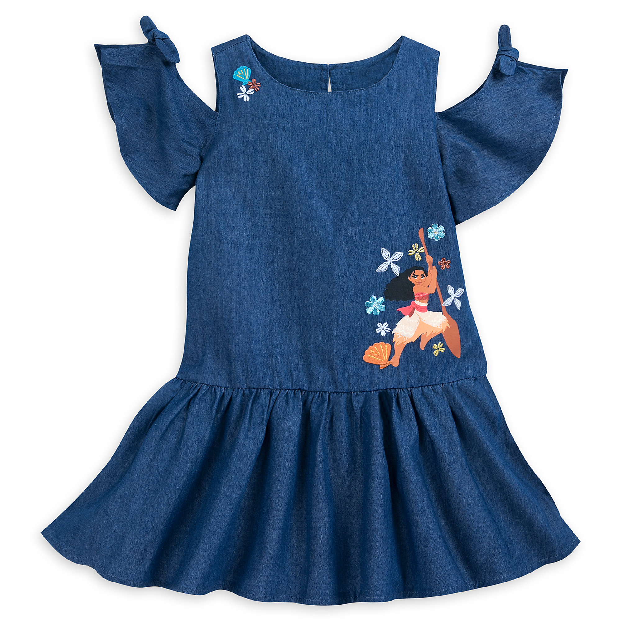 Moana Woven Dress for Girls
