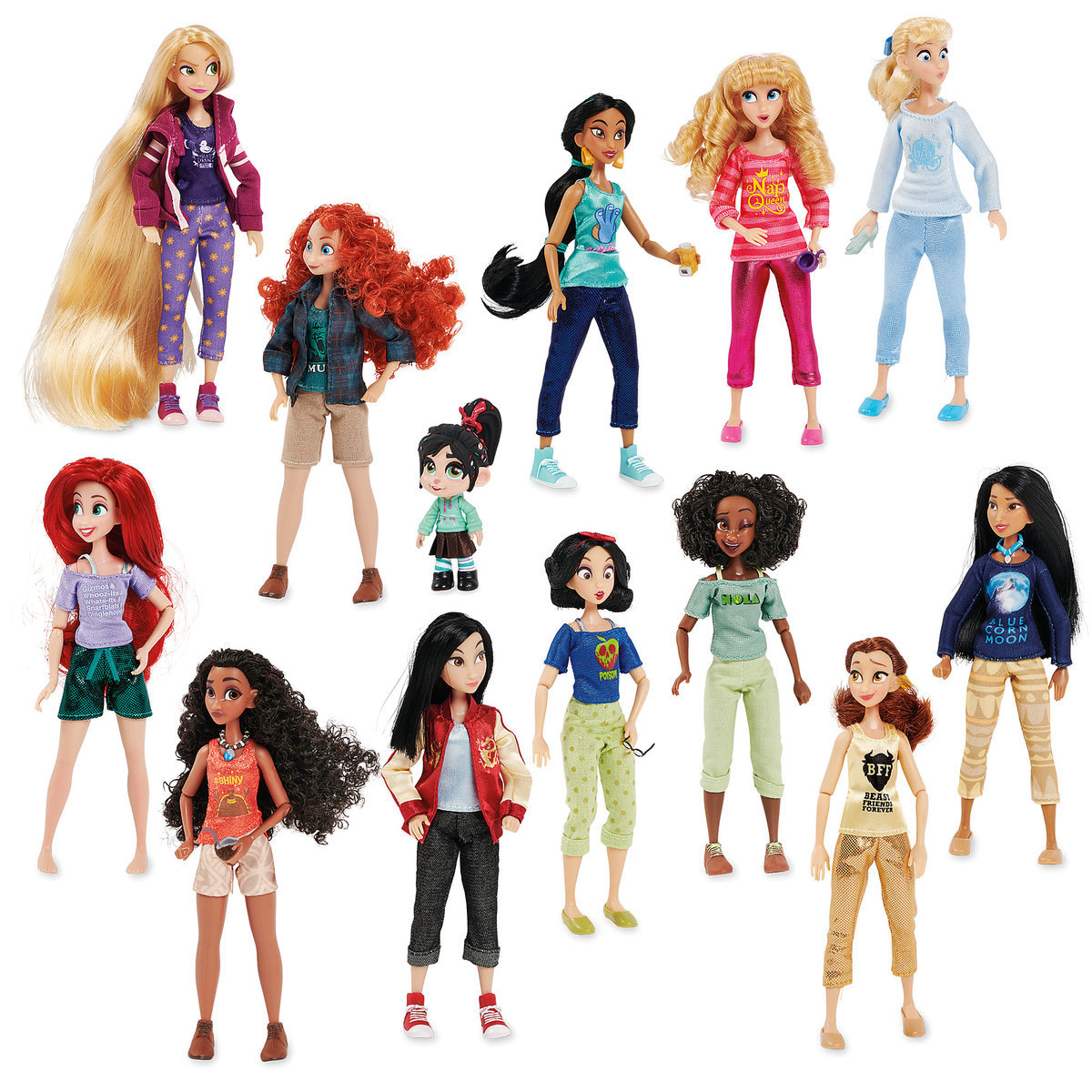 cd416df3ceb Product Image of Vanellope with Princesses from Ralph Breaks the Internet  Doll Set   1