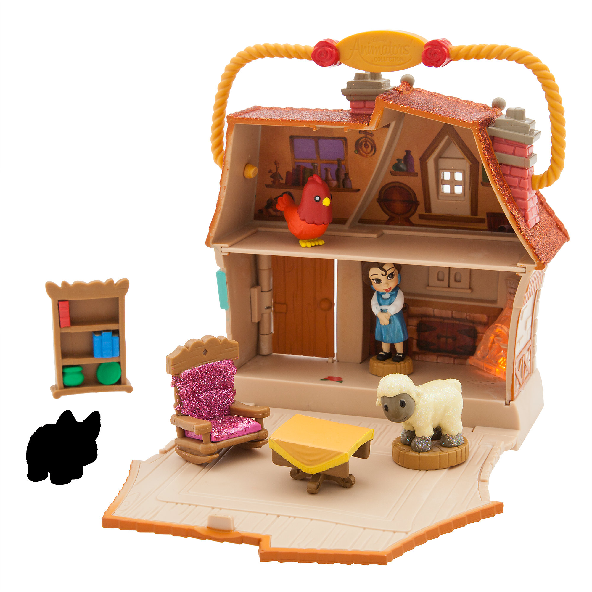 Disney Animators' Little Collection Belle Surprise Feature Playset