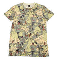 Image of The Princess and the Frog T-Shirt for Adults by Cakeworthy # 1