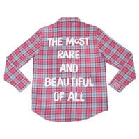 Image of Mulan Flannel Shirt for Adults by Cakeworthy # 1