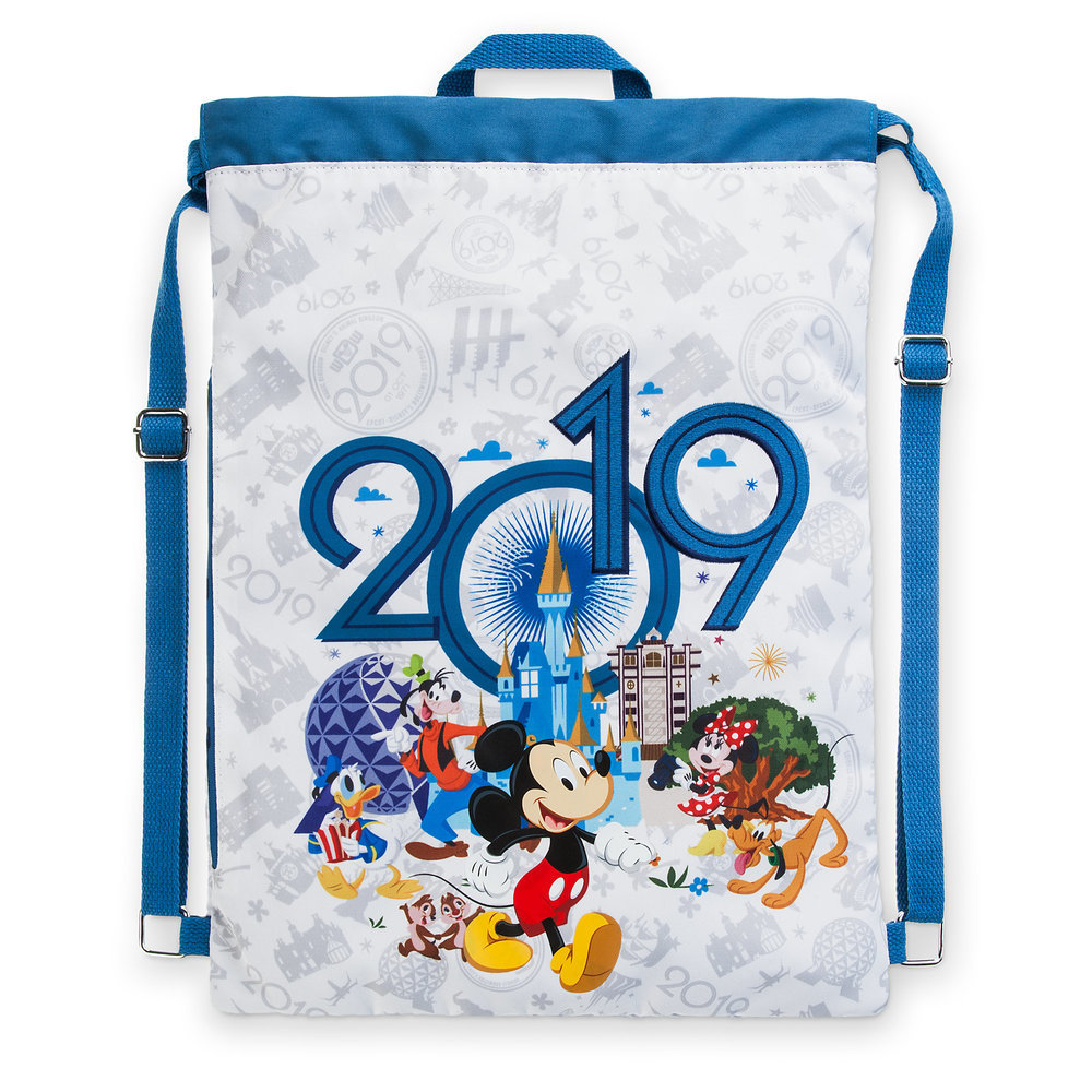 Mickey Mouse and Friends Cinch Sack - Walt Disney World - 2019
