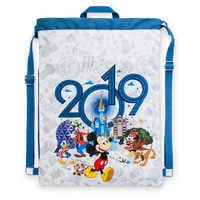 Image of Mickey Mouse and Friends Cinch Sack - Walt Disney World - 2019 # 1
