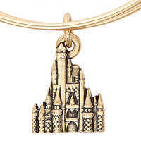 Image of Cinderella Castle Figural Bangle by Alex and Ani # 4