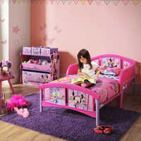 Image of Minnie Mouse Toddler Bed # 2
