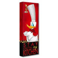 Image of Donald Duck ''Stay Outta My Kitchen'' Giclée on Canvas by Tim Rogerson # 1