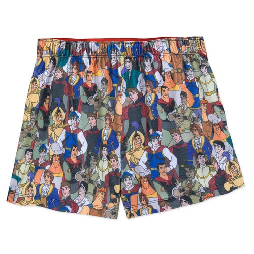 Disney Prince Boxer Shorts for Women - Oh My Disney