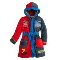 Lightning McQueen and Jackson Storm Robe for Boys - Cars 3