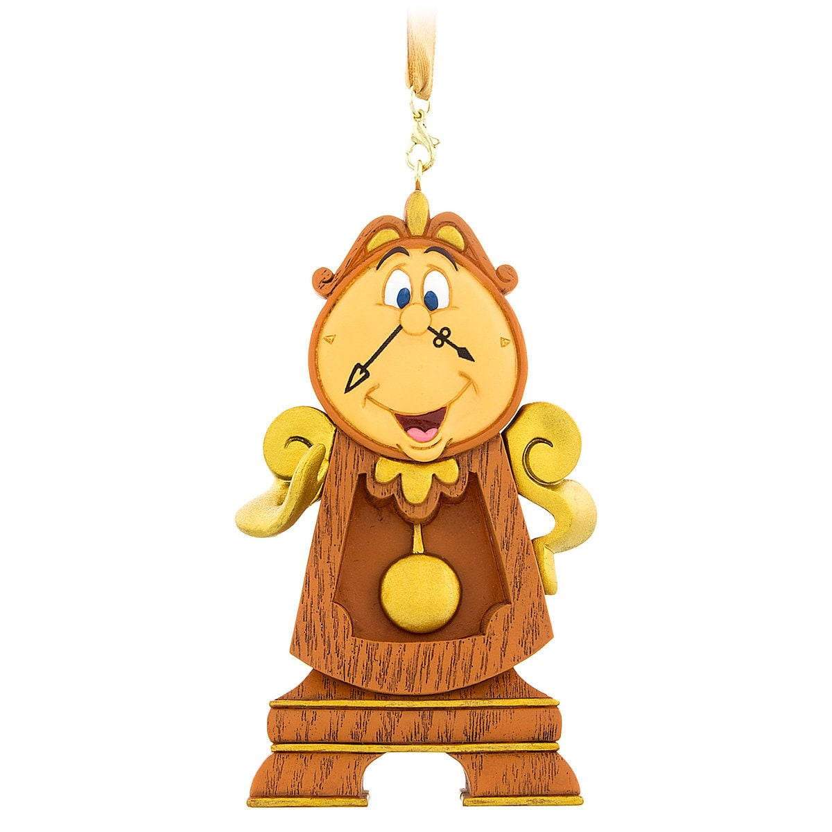 Thumbnail Image Of Cogsworth Figural Ornament Beauty And The Beast 1