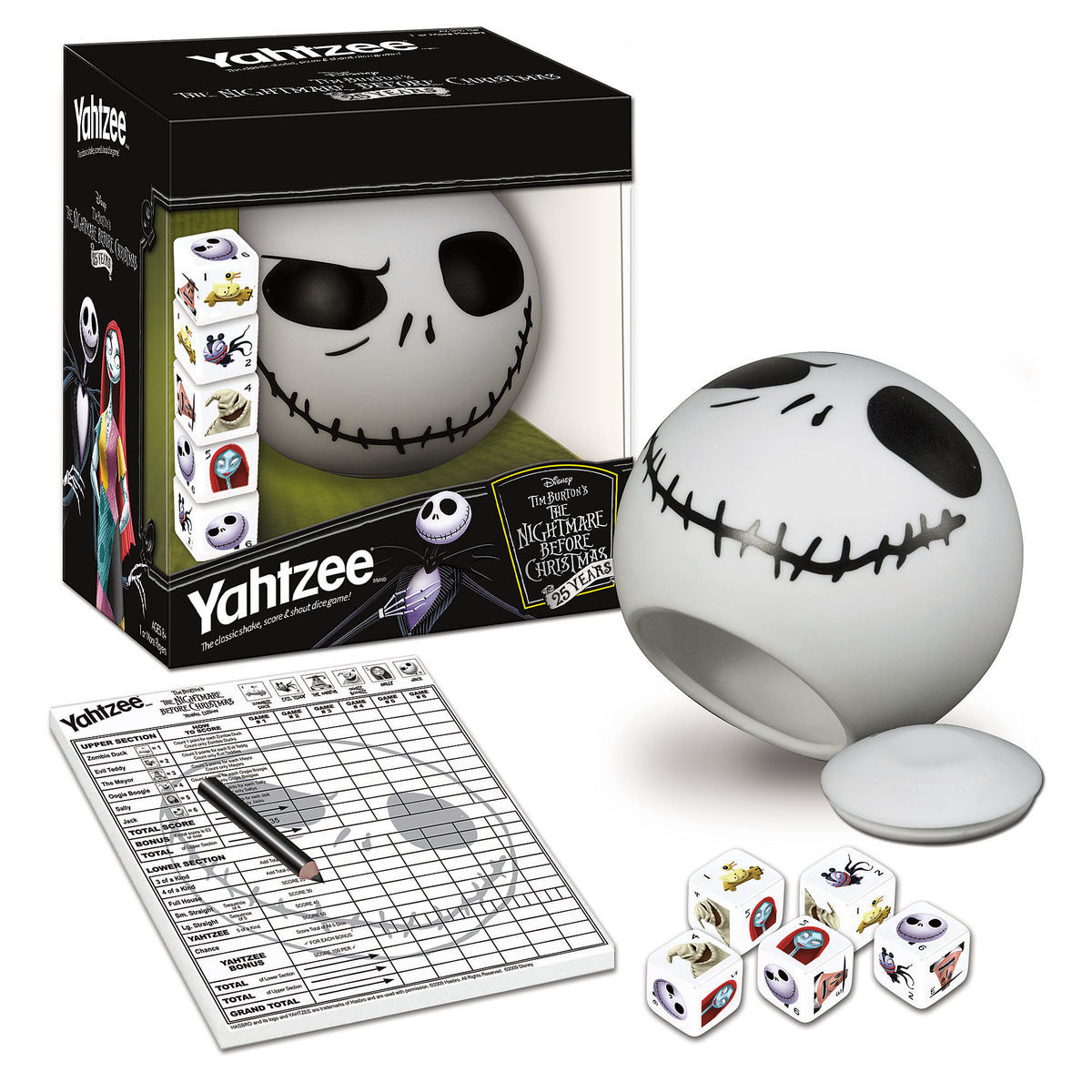 The Nightmare Before Christmas 25 Years Yahtzee | shopDisney