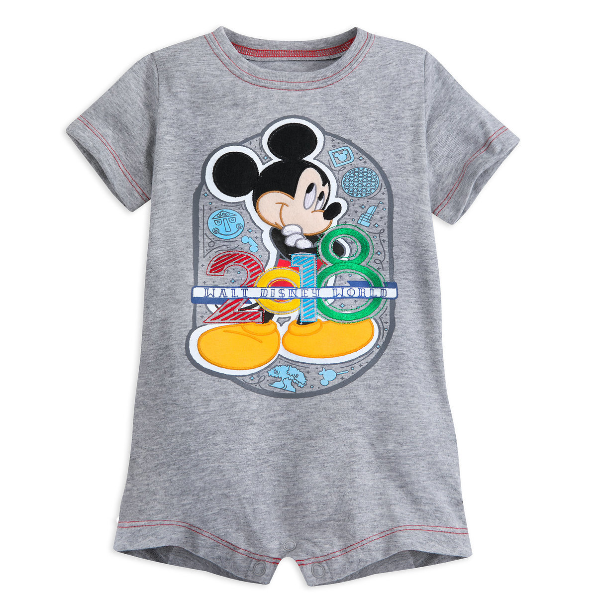 c2ee9fb04d6 Product Image of Mickey Mouse Romper for Baby - Walt Disney World 2018   1