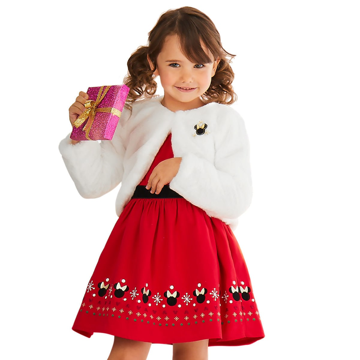 minnie mouse holiday fancy dress for girls shopdisney