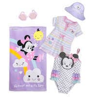 Image of Minnie Mouse Swimwear Collection for Baby # 1