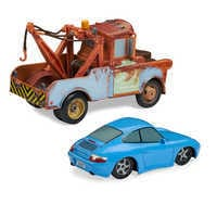 Image of Mater & Sally Pull 'N' Race Die Cast Set - Cars # 2