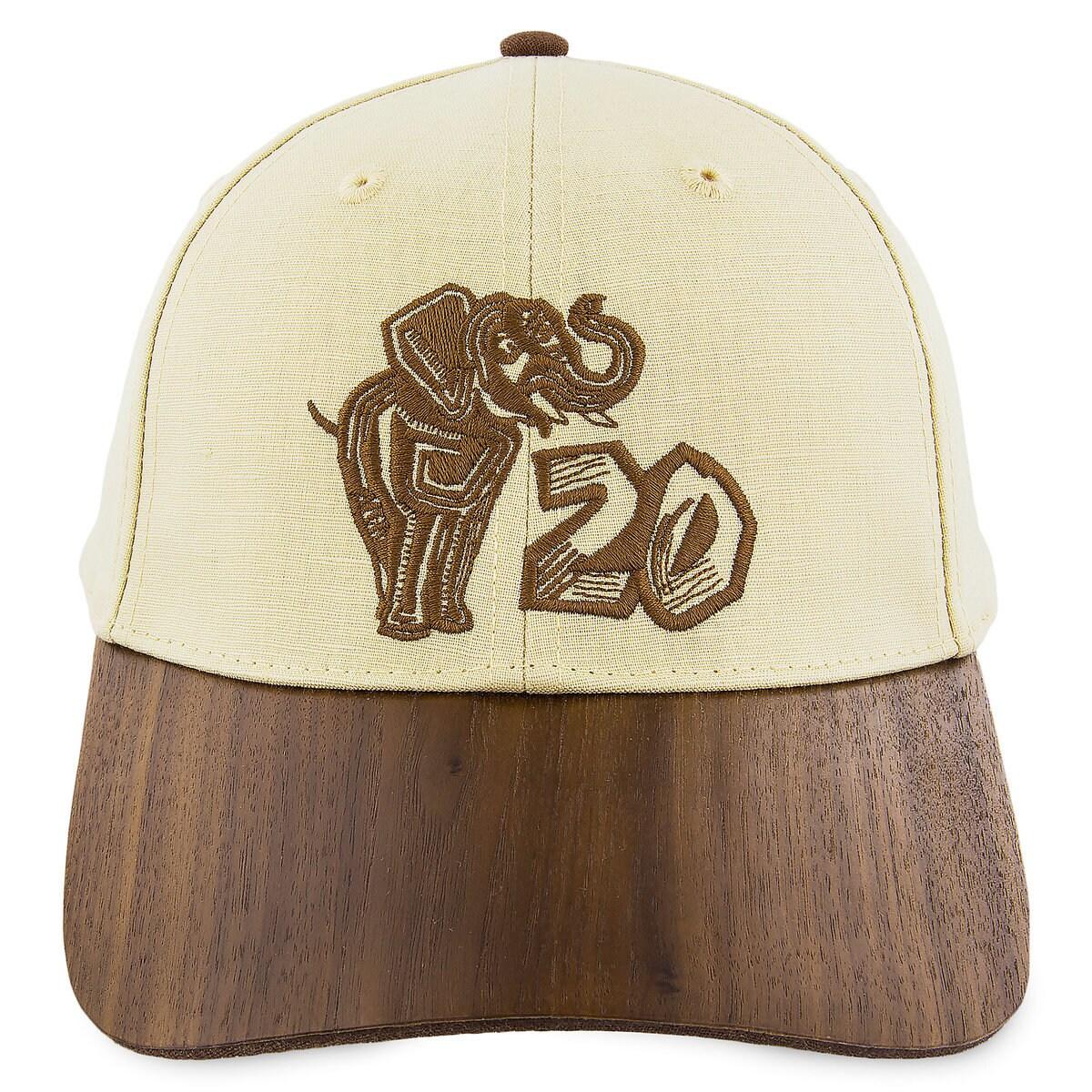 7ca91225b Disney's Animal Kingdom 20th Anniversary Baseball Ball Cap for Adults