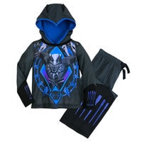 Image of Black Panther Hooded Sleep Set for Boys # 1
