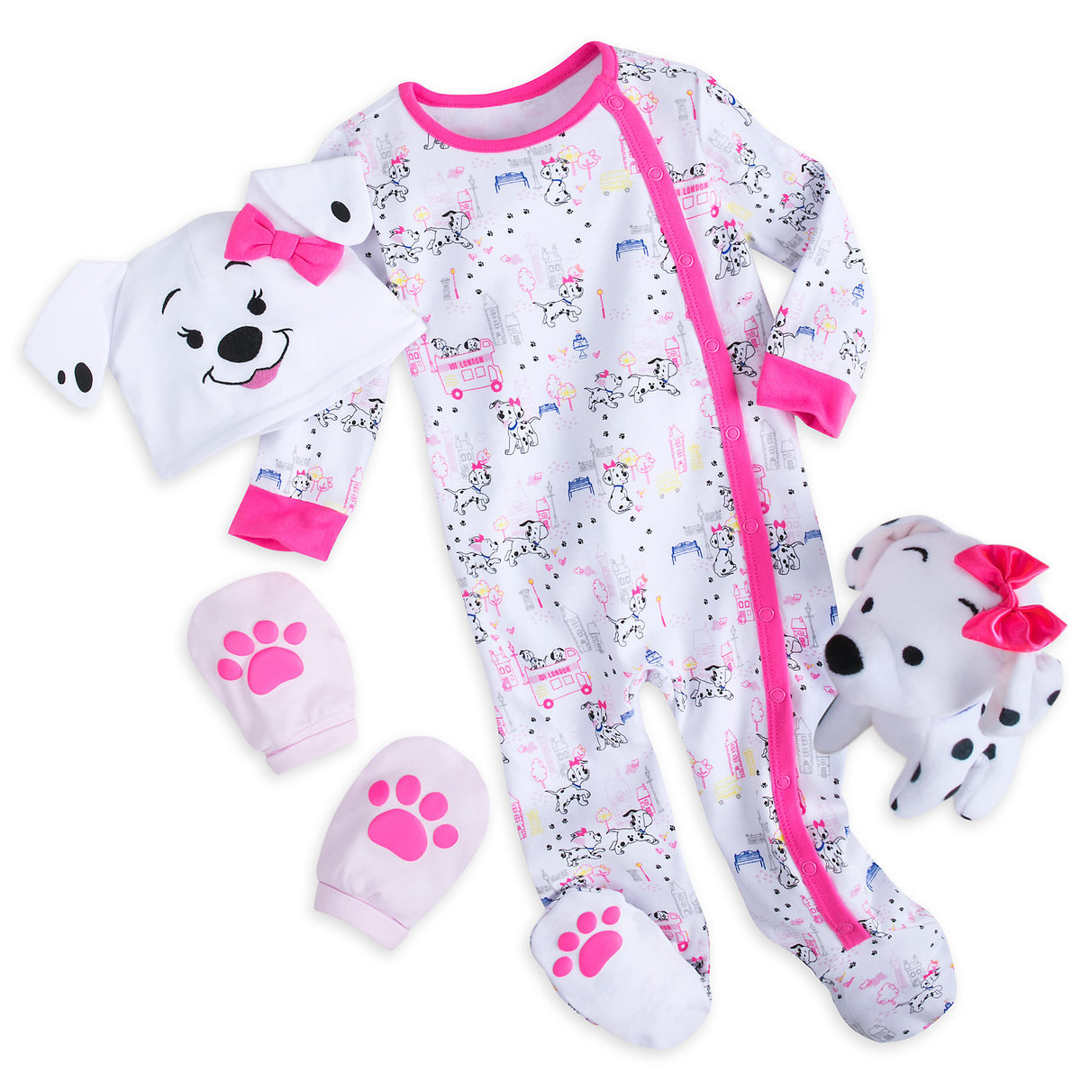 16a48c045 Product Image of 101 Dalmatians Gift Set for Baby - Pink # 1