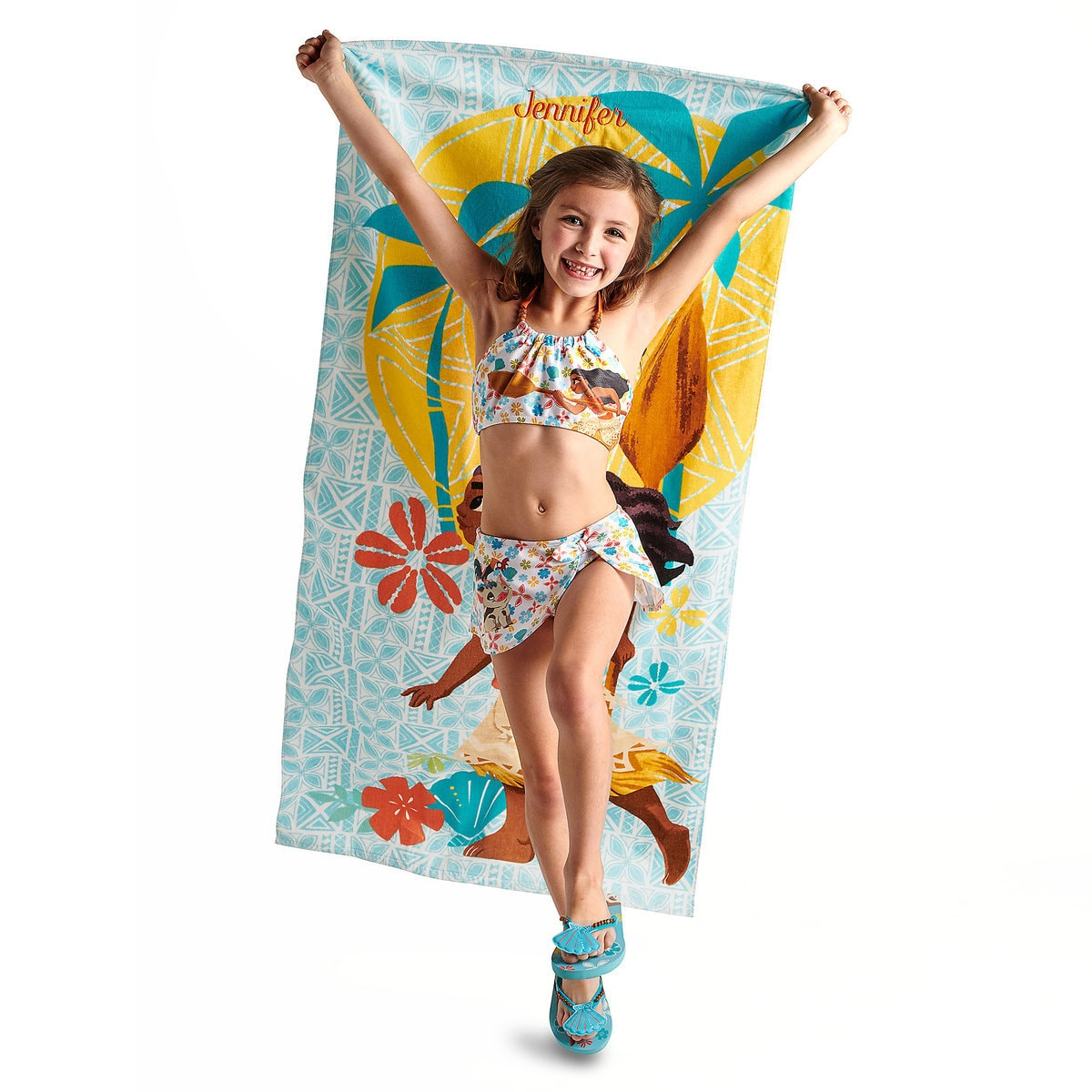 f13fb28bedd3f Product Image of Moana Two-Piece Swimsuit for Girls # 2
