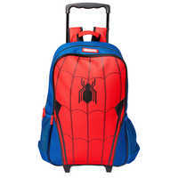 Image of Spider-Man Rolling Backpack - Personalized # 1