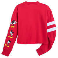 Image of Mickey Mouse Cropped Pullover for Women # 2