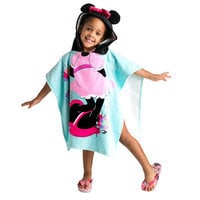 Image of Minnie Mouse Hooded Towel for Kids - Personalizable # 2