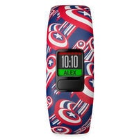 Image of Captain America Garmin vivofit jr. 2 Activity Tracker for Kids with Adjustable Band # 3
