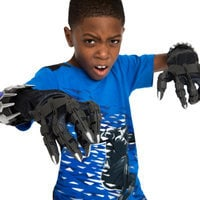 Image of Black Panther Glove Set with Battle Sounds # 2