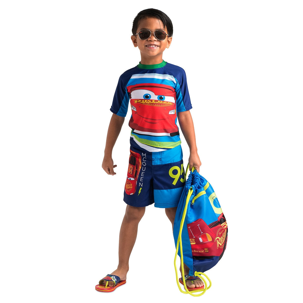 246ed63db9 Product Image of Lightning McQueen Swimwear Collection for Kids # 1