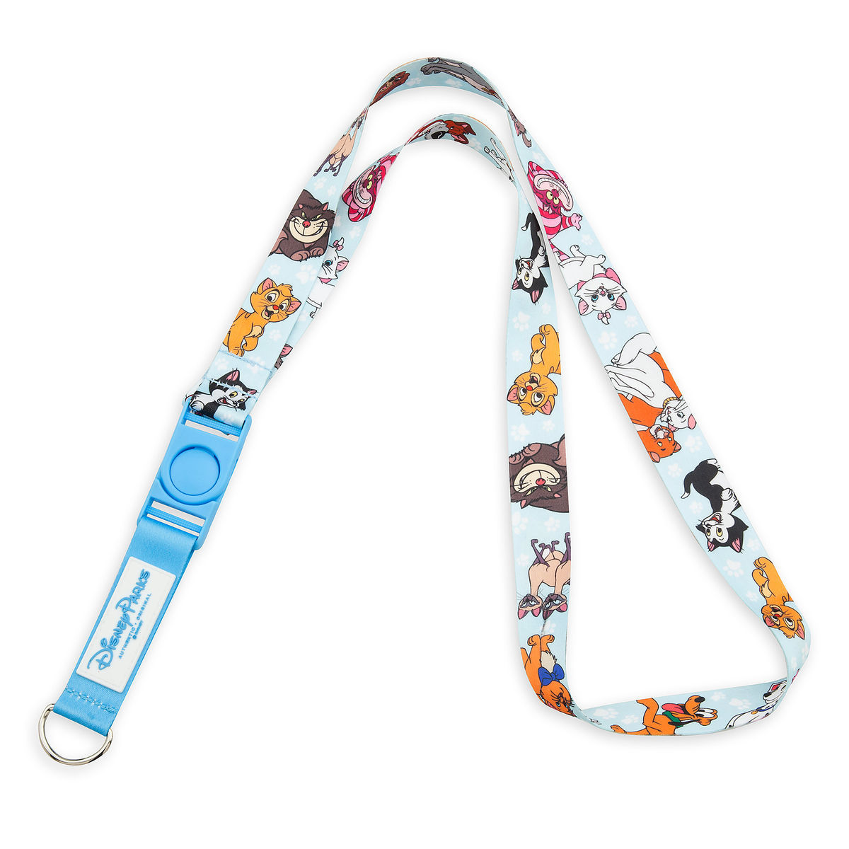 8026e0e092 Product Image of Disney Dog and Cats Reversible Lanyard   1