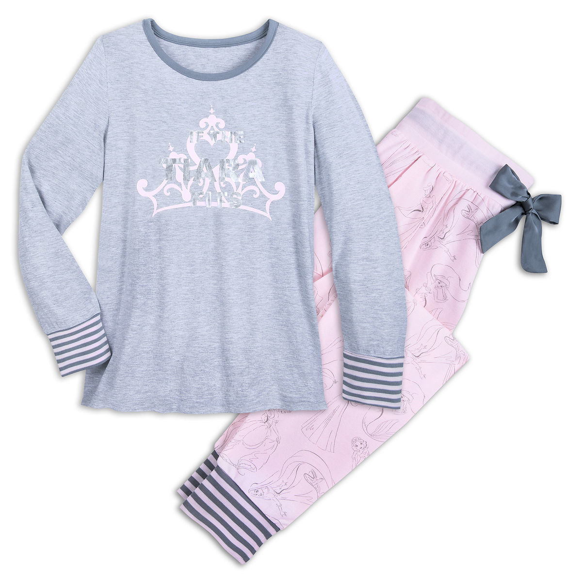 3f85d8766f Product Image of Disney Princess   If The Tiara Fits   PJ Set for